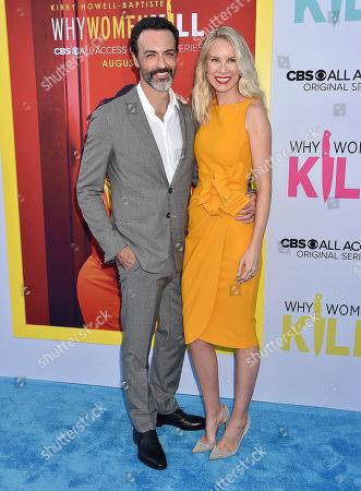 Reid Scott and Elspeth Keller