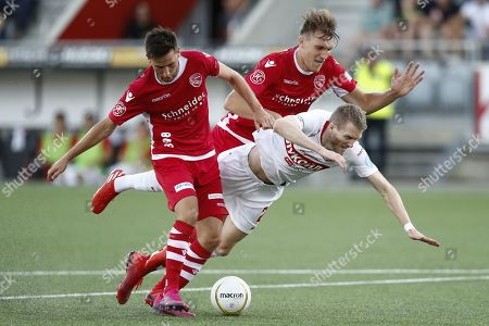 Editorial image of FC Thun vs Spartak Moscow, Switzerland - 08 Aug 2019