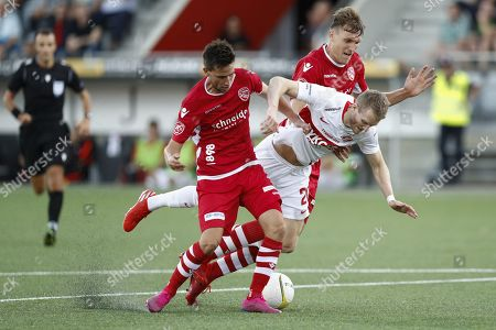 Editorial photo of FC Thun vs Spartak Moscow, Switzerland - 08 Aug 2019
