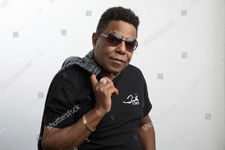 """This photo shows Tito Jackson, a member of the famed Jackson 5, posing for a portrait in Los Angeles to promote his solo project, a new version of his 2017 song """"One Way Street"""