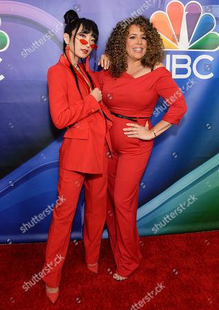 Poppy Liu and Diana-Maria Riva