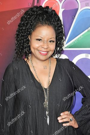 Stock Image of Tymberlee Hill attends the NBC red carpet event during the Television Critics Association Summer Press Tour, in Beverly Hills, Calif