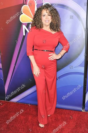 Stock Picture of Diana Maria Riva attends the NBC red carpet event during the Television Critics Association Summer Press Tour, in Beverly Hills, Calif