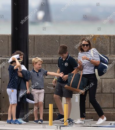 Princess Charlotte and Carole Middleton
