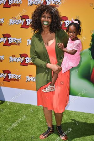 Stock Picture of GloZell and daughter