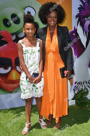 Genesis Tennon and Viola Davis