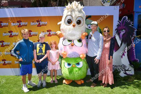 Matt Walsh and family