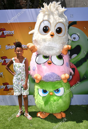Editorial photo of 'The Angry Birds Movie 2' film premiere, Arrivals, Regency Village Theatre, Los Angeles, USA - 10 Aug 2019