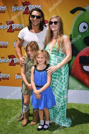 Stock Image of Zach McGowan and family