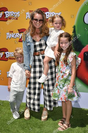 Editorial image of 'The Angry Birds Movie 2' film premiere, Arrivals, Regency Village Theatre, Los Angeles, USA - 10 Aug 2019