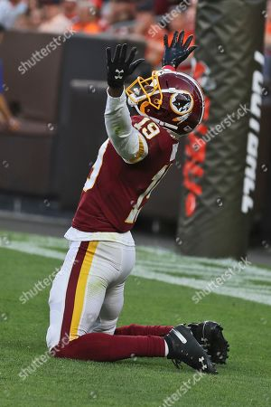 Editorial image of Redskins Browns Football, Cleveland, USA - 08 Aug 2019