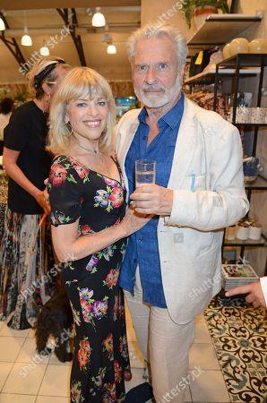 Stock Picture of Dick Polak and Edina Ronay