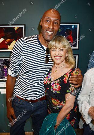Colin Jackson and Edina Ronay