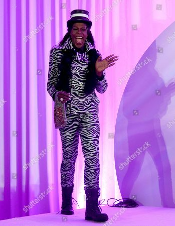 "Big Freedia participates in the ""Queer Headliners 2019"" panel at Billboard and THR's Pride Summit, in West Hollywood, Calif"