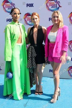 Megalyn Echikunwoke, Brittany Snow and Emily Osment
