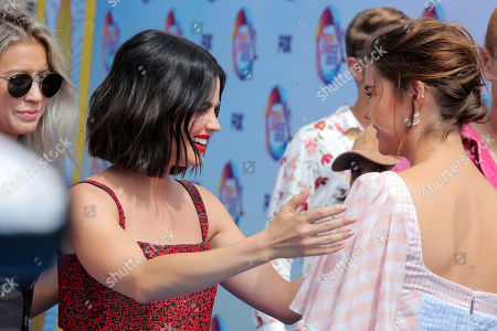 Lucy Hale and Maia Mitchell