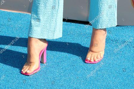 Jessica Alba, shoe detail
