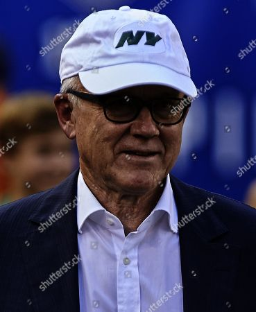, 2019, East Rutherford, New Jersey, USA: New York Jets owner Woody Johnson prior to a preseason game between the New York Jets and the New York Giants at MetLife Stadium in East Rutherford, New Jersey