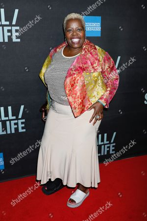 Editorial picture of 'Sea Wall / A Life' Broadway play opening night, Arrivals, Hudson Theater, New York, USA - 08 Aug 2019