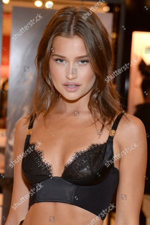 Editorial photo of Victoria's Secret new fall collection debut, Beverly Center, Los Angeles, USA - 08 Aug 2019