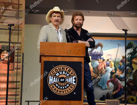 Editorial image of 'Brooks & Dunn: Kings of Neon' exhibition opening, Nashville, USA - 08 Aug 2019