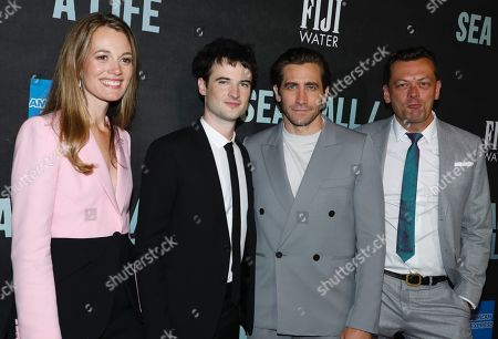 Editorial photo of 'Sea Wall / A Life' Broadway play opening night, After Party, New York, USA - 08 Aug 2019