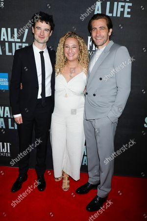 Tom Sturridge, Riva Marker and Jake Gyllenhaal