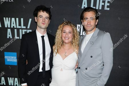 Stock Picture of Tom Sturridge, Riva Marker and Jake Gyllenhaal