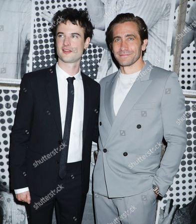 Stock Picture of Tom Sturridge and Jake Gyllenhaal