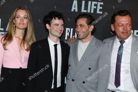Carrie Cracknell, Tom Sturridge, Jake Gyllenhaal and Simon Stephens