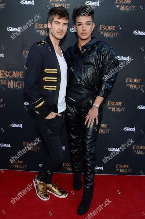 Joey Graceffa and James Charles