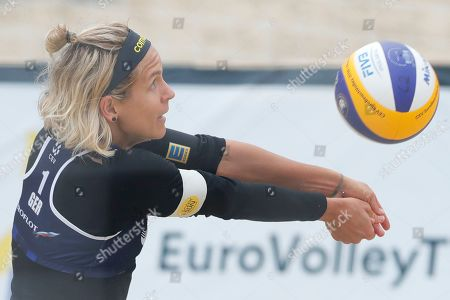 Editorial picture of Russia Beach Volleyball European Championship, Moscow, Russian Federation - 09 Aug 2019