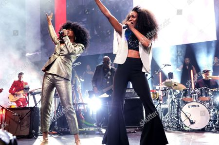 Iris Gold and Beverley Knight
