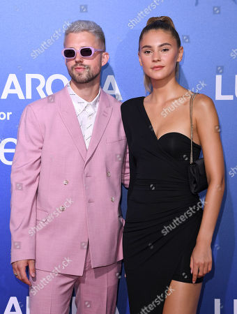 Stock Image of Marcus Butler and Stefanie Giesinger