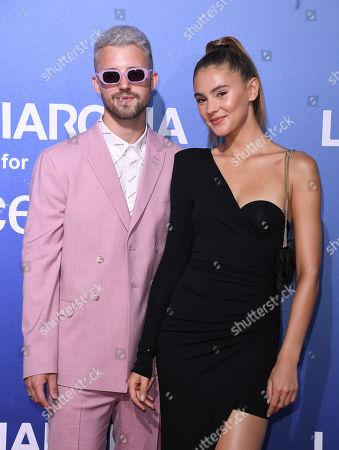 Marcus Butler and Stefanie Giesinger