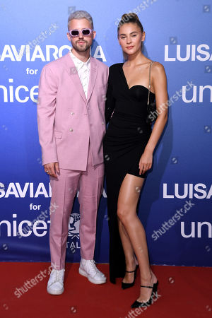 Stock Photo of Marcus Butler and Stefanie Giesinger