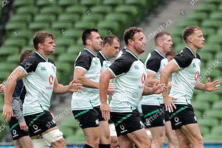 Editorial photo of Ireland Rugby Captain's Run, Aviva Stadium, Dublin  - 09 Aug 2019