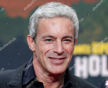 Stock Picture of Gedeon Burkhard arrives for the Germany premiere of the movie 'Once Upon A Time in Hollywood' in Berlin, Germany