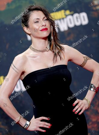 Stock Photo of Jana Pallaske arrives for the Germany premiere of the movie 'Once Upon A Time in Hollywood' in Berlin, Germany