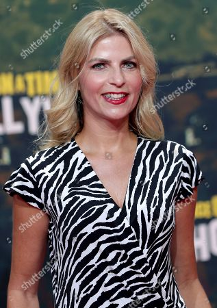 Stock Picture of Tanja Buelter arrives for the Germany premiere of the movie 'Once Upon A Time in Hollywood' in Berlin, Germany