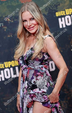Xenia Seeberg arrives for the Germany premiere of the movie 'Once Upon A Time in Hollywood' in Berlin, Germany