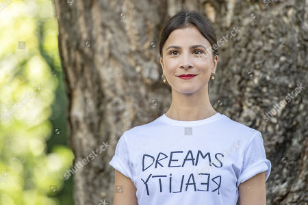 Stock Photo of Aylin Tezel poses during the photocall for the film '7500' at the 72nd Locarno International Film Festival, in Locarno, Switzerland, 09 August 2019. The Festival del film Locarno runs from 07 to 17 August.