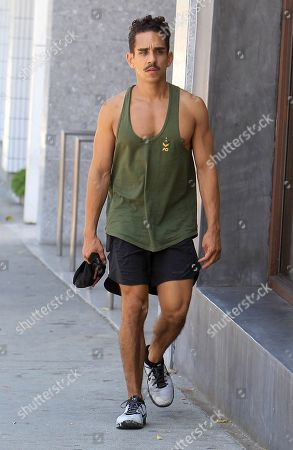 Editorial photo of Ray Santiago out and about, Los Angeles, USA - 08 Aug 2019