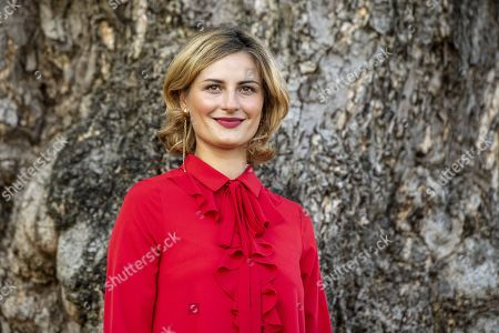 Stock Image of Ukranian actress Lidiya Liberman poses during the photocall for the film 'Maternal' at the 72nd Locarno International Film Festival, in Locarno, Switzerland, 09 August 2019. The Festival del film Locarno runs from 07 to 17 August.
