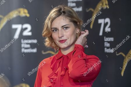 Stock Photo of Ukranian actress Lidiya Liberman poses during the photocall for the film 'Maternal' at the 72nd Locarno International Film Festival, in Locarno, Switzerland, 09 August 2019. The Festival del film Locarno runs from 07 to 17 August.