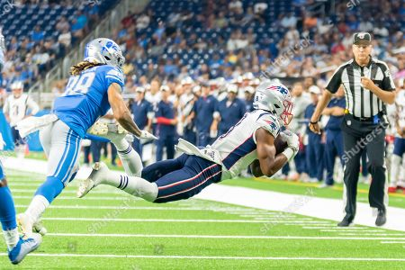 Editorial image of NFL:  Patriots at Lions, USA - 08 Aug 2019