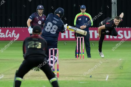 Editorial image of Leicestershire County Cricket Club v Northamptonshire County Cricket Club, Vitality T20 Blast North Group - 09 Aug 2019