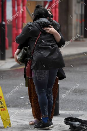 Editorial image of Kathy Burke out and about, London, UK - 09 Aug 2019