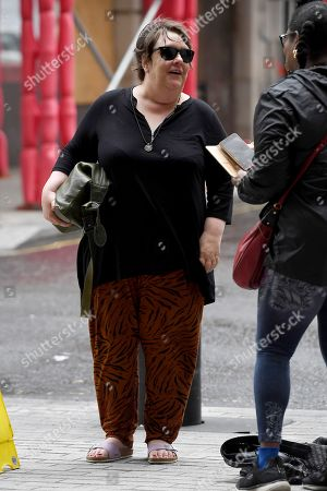 Editorial picture of Kathy Burke out and about, London, UK - 09 Aug 2019