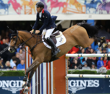 Longines FEI Jumping Nations Cup. Great Britain's Scott Brash on Hello Jefferson